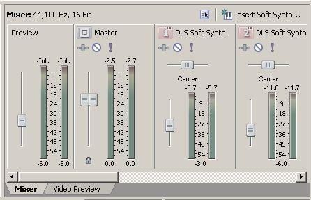 ACID mixer