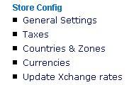 Automatic Currency Updater menu item