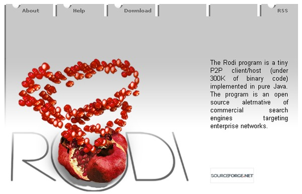 Rodi home page