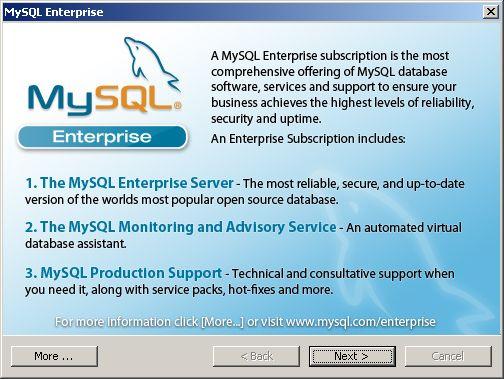 MySQL Enterprise - 1