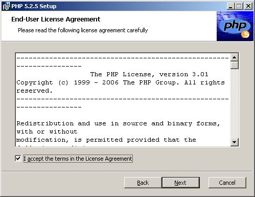 Setup Wizard - license