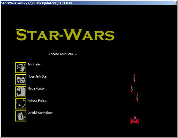 Calc Star-Wars game