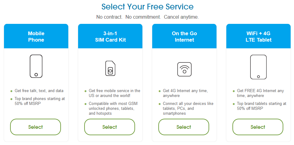 FreedomPop services