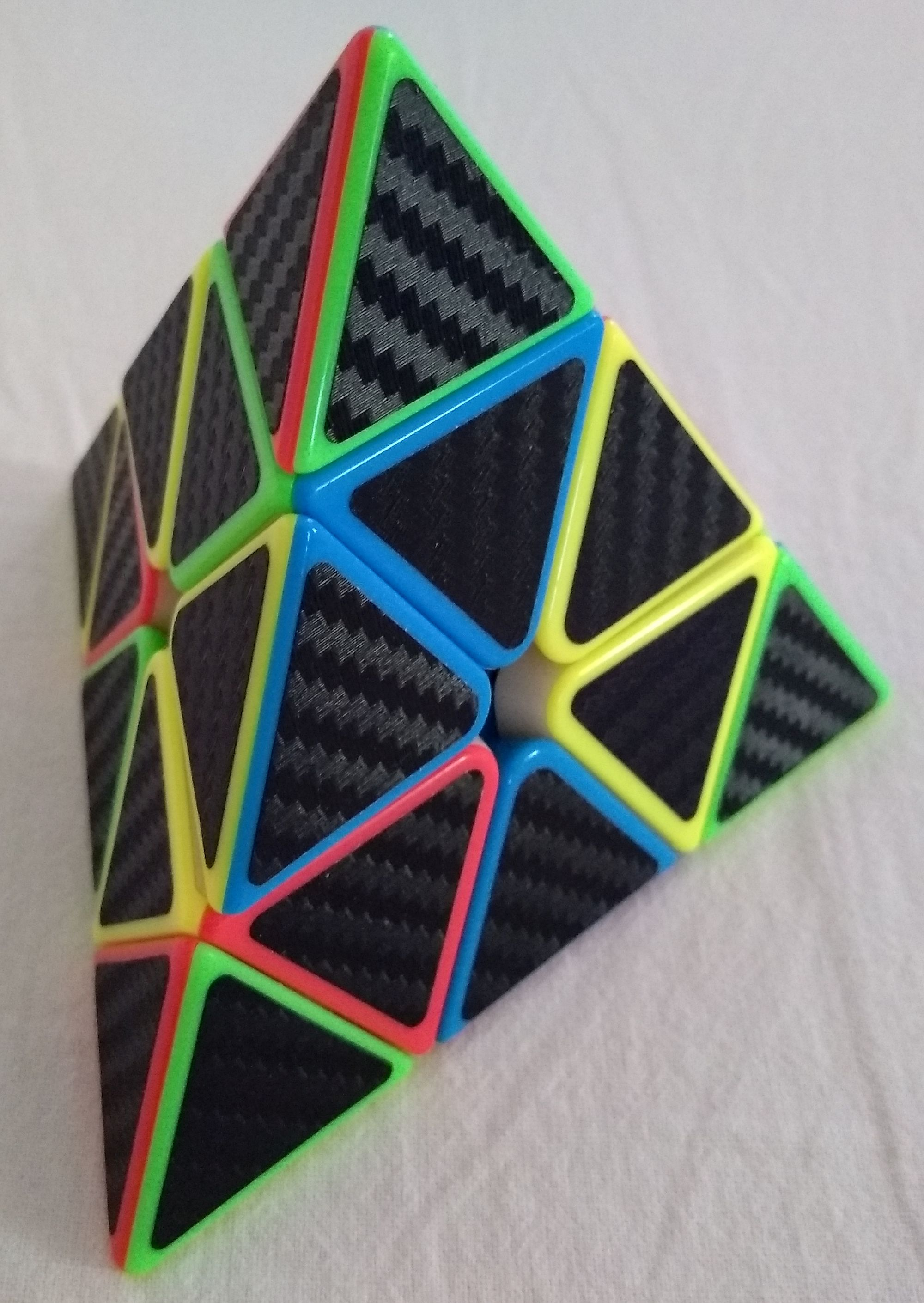 Pyraminx scrambled