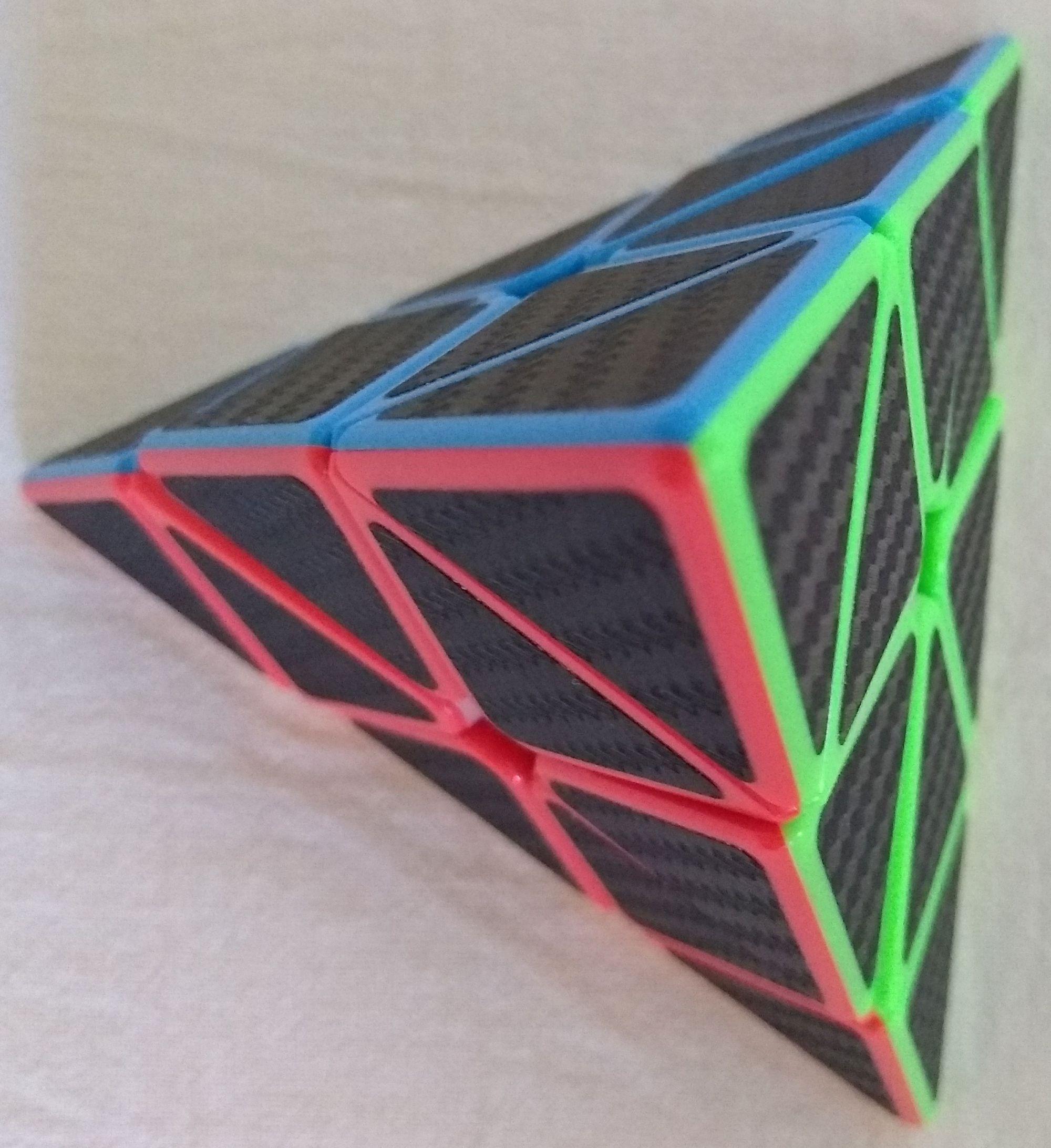 Pyraminx solved