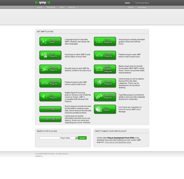 Quinnware plugins page