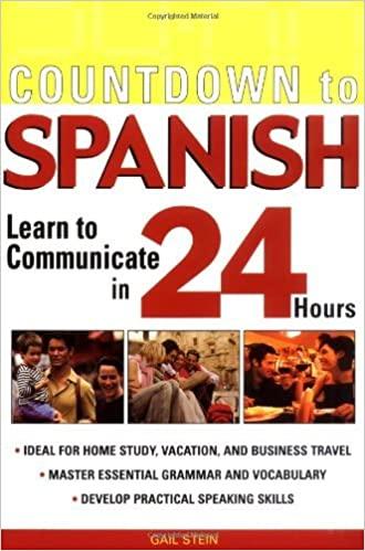 Countdown to Spanish book