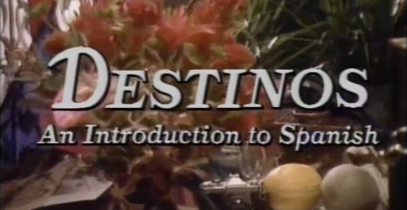 Destinos intro screenshot