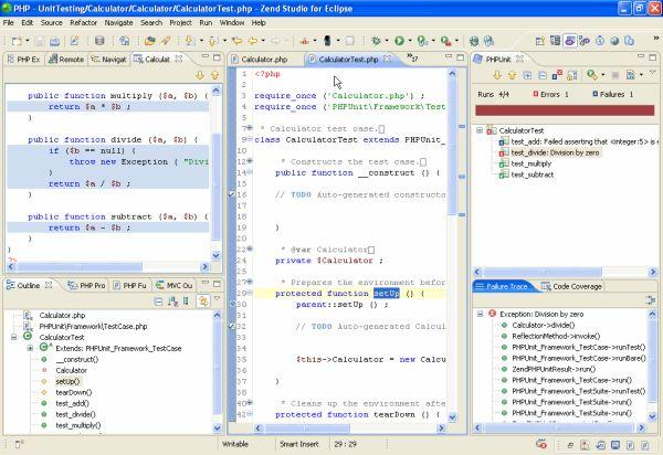Zend Studio 6.0 - Unit testing