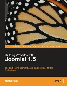 Building Websites with Joomla! 1.5, 2nd Edition
