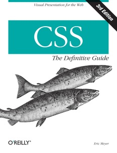 CSS The Definitive Guide, 3rd Edition