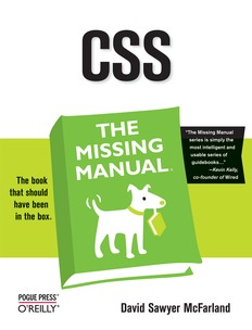 CSS The Missing Manual