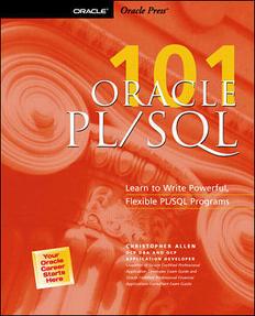 Oracle PLSQL 101