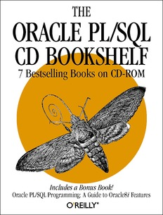 Oracle PLSQL CD Bookshelf