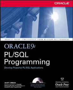 Oracle9i PLSQL Programming, 2nd Edition