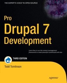 Pro Drupal 7 Development, 3rd Edition