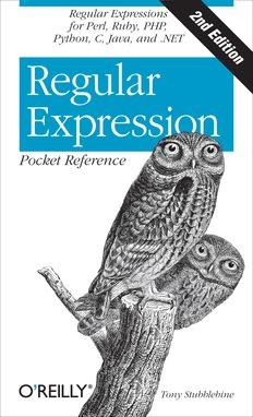 Regular Expression Pocket Reference, 2nd Edition